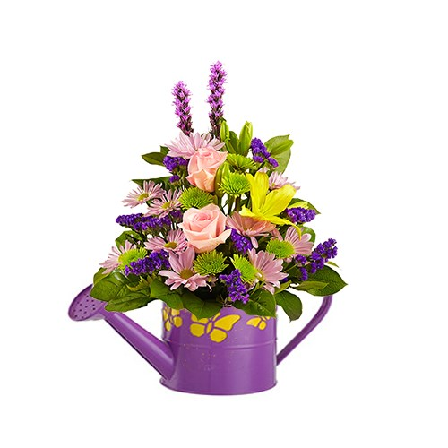 moms-favorite-purple-flower-arrangement